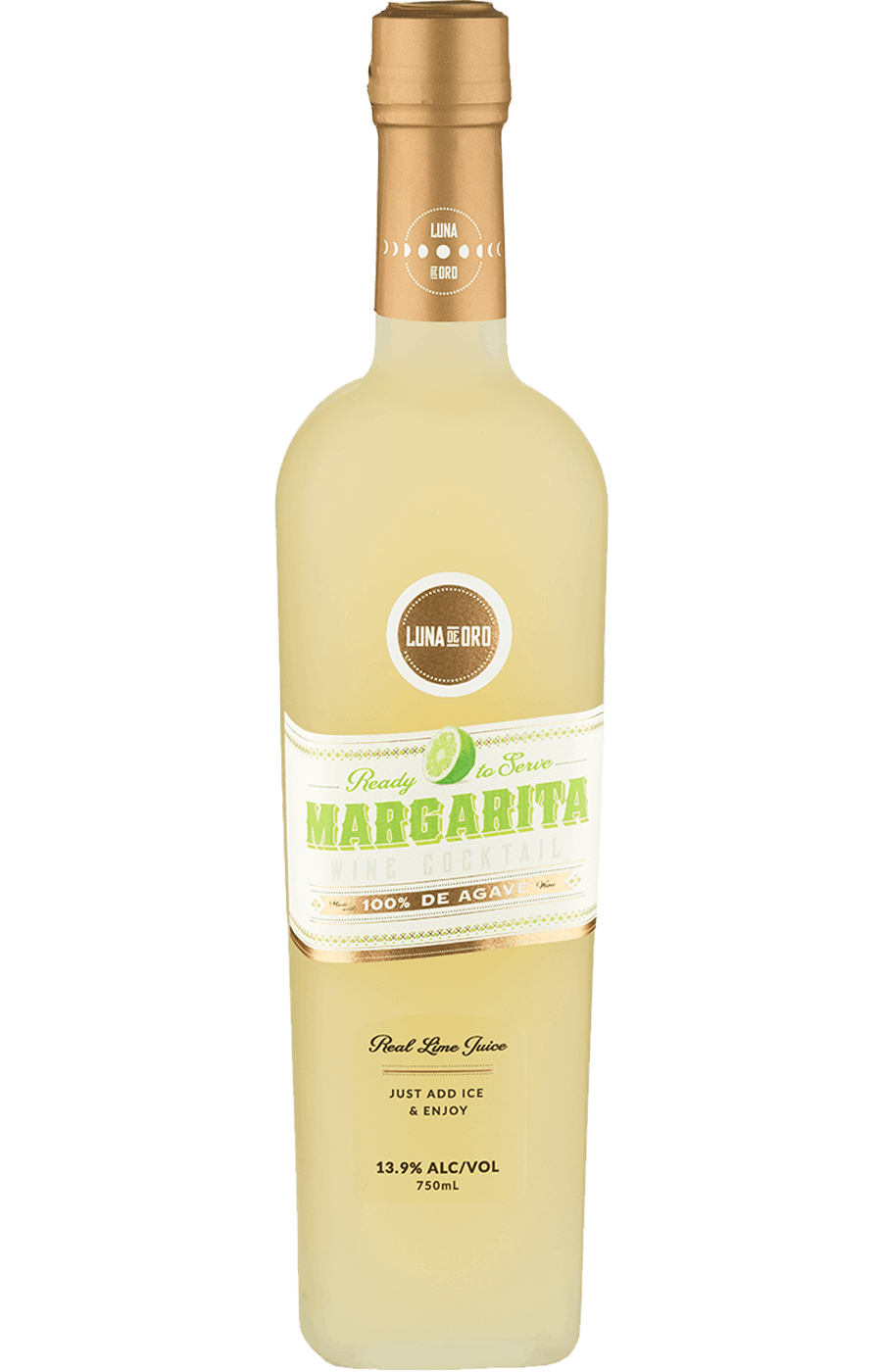 luna de oro margarita 750mL